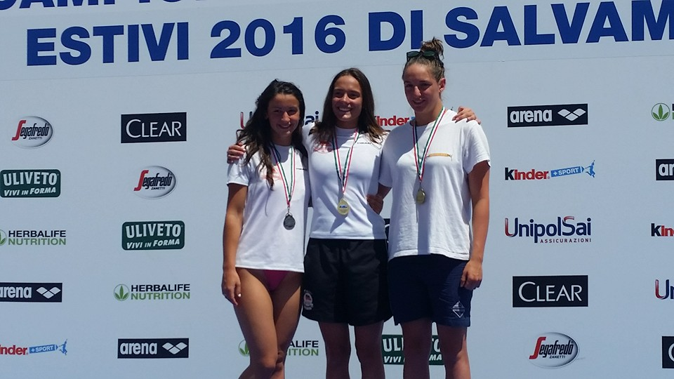 Elena Spagnolo bronzo 50 manichino junior