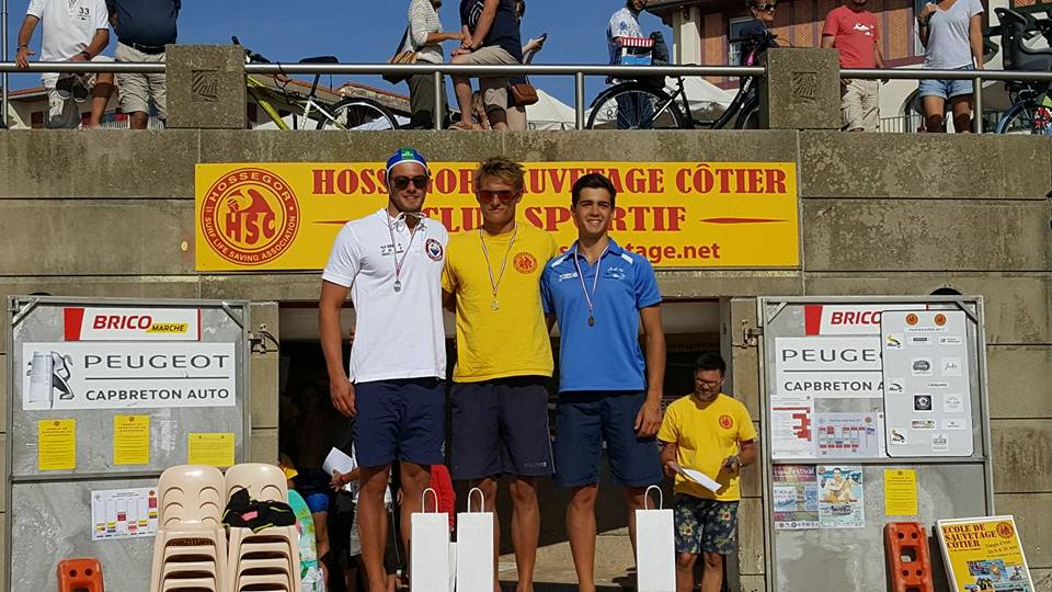 Nicolò Di Tullio argento nella classifica combinata all'Open d'Hossegor 2017