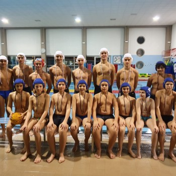 Squadre pallanuoto under 13 e under 17